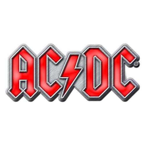 Insignă AC/DC Red Logo