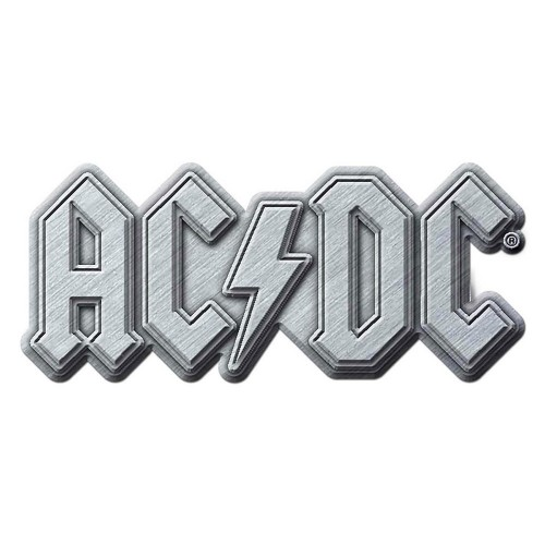 Insignă AC/DC Metal Logo
