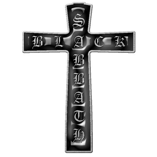Insignă Black Sabbath Cross
