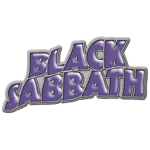Insignă Black Sabbath Purple Logo