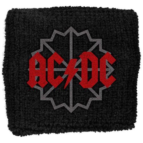 Sweatband AC/DC Black Ice Logo