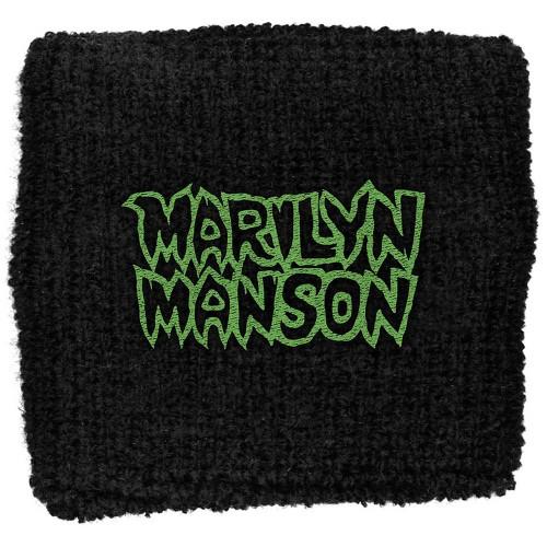 Sweatband Marilyn Manson Logo
