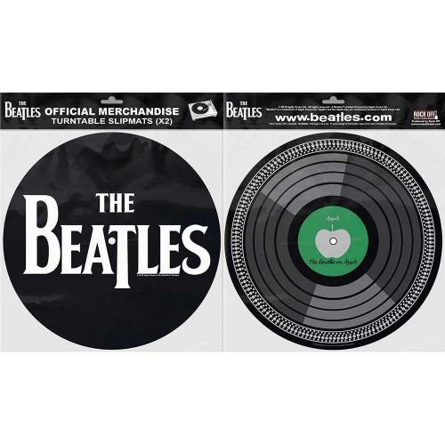 Set Slipmaturi The Beatles Drop T Logo & Apple