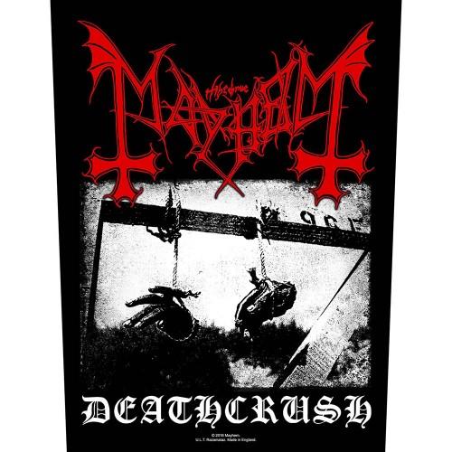 Back Patch Mayhem Deathcrush