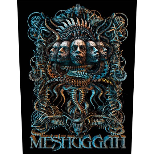Back Patch Meshuggah 5 Faces