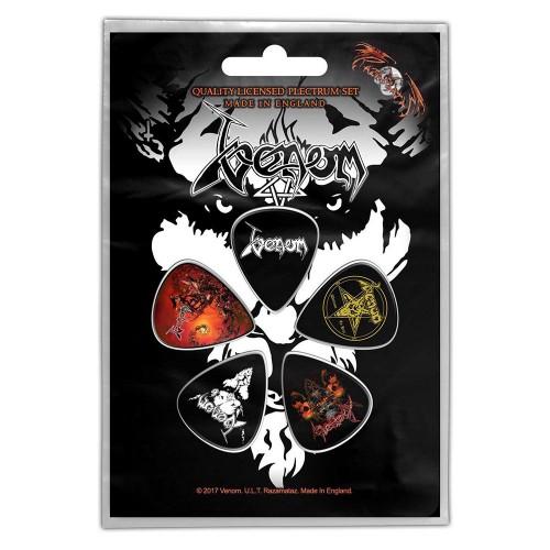 Set Pene Chitară Venom Black Metal