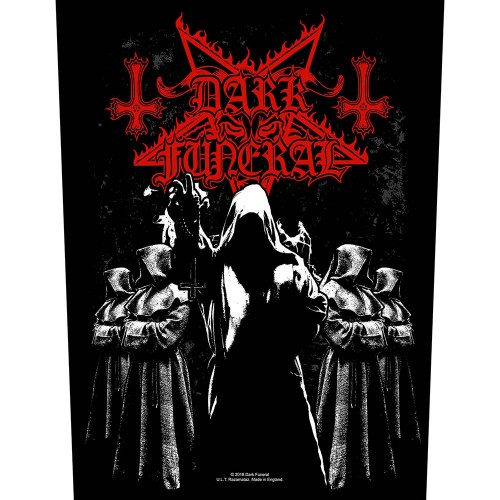 Back Patch Dark Funeral Shadow Monks