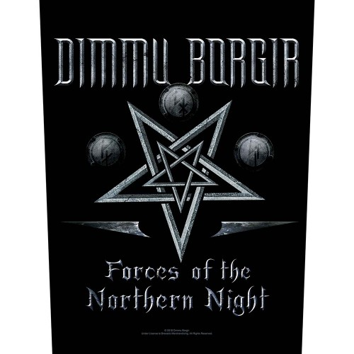 Back Patch Dimmu Borgir Forces of the Northern Night