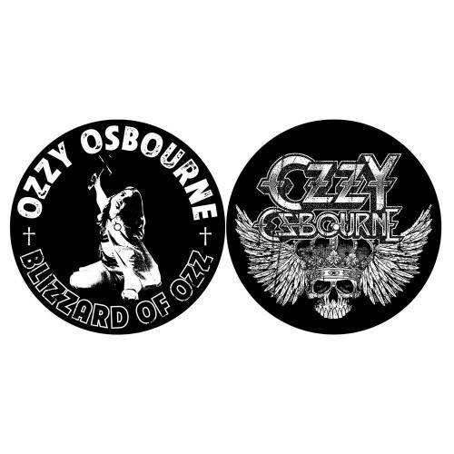 Set Slipmaturi Ozzy Osbourne Blizzard of Ozz/Crest