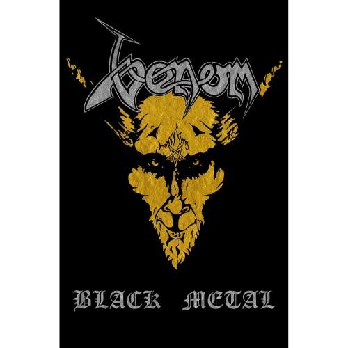 Poster Textil Venom Black Metal