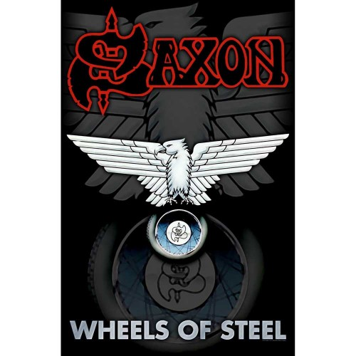 Poster Textil Saxon Wheels Of Steel