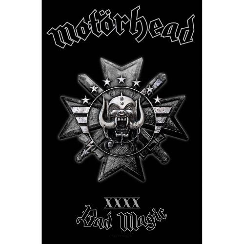 Poster Textil Motorhead Bad Magic