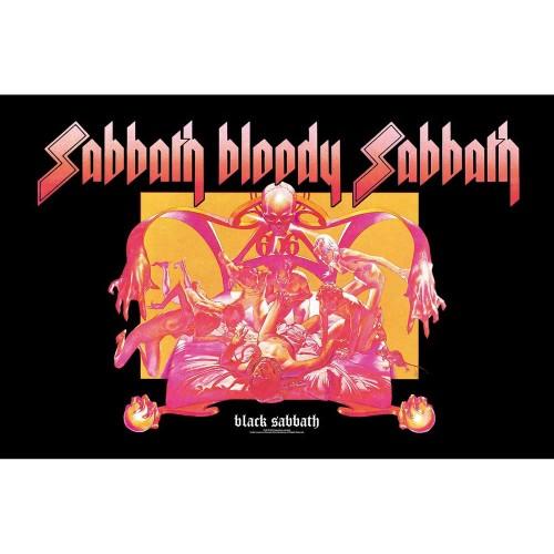 Poster Textil Black Sabbath Sabbath Bloody Sabbath