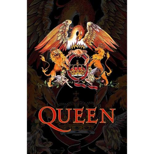 Poster Textil Queen Crest
