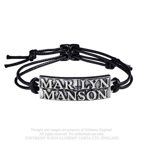 Brățară Marilyn Manson Logo