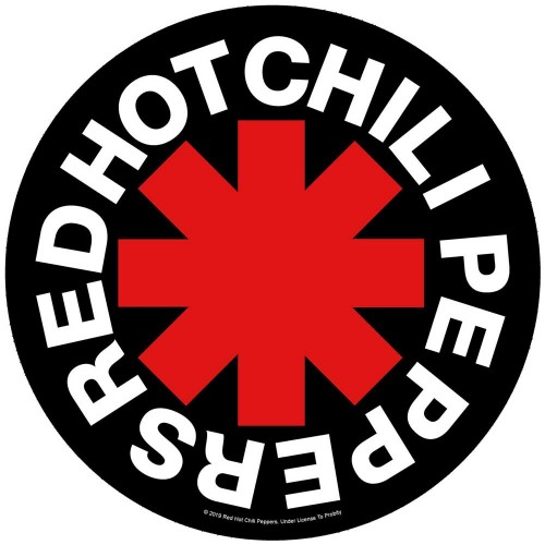 Back Patch Red Hot Chili Peppers Asterisk