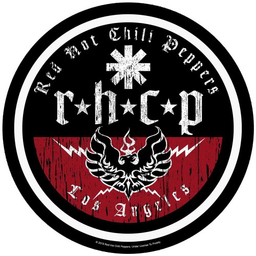 Back Patch Red Hot Chili Peppers L.A. Biker