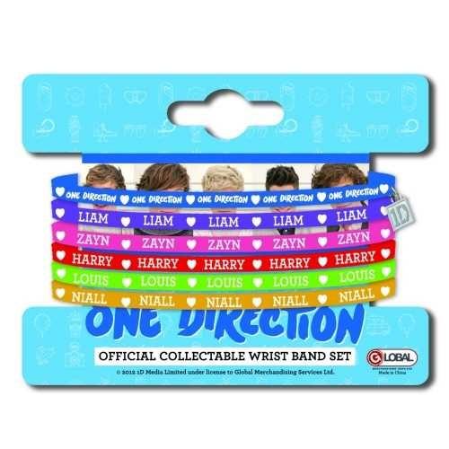 Set Brățări de Silicon One Direction Colours