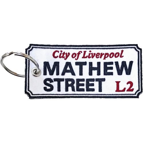 Breloc Road Sign Mathew Street, Liverpool Sign