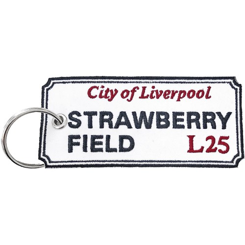 Breloc Road Sign Strawberry Field, Liverpool Sign