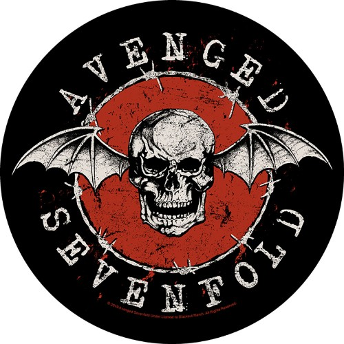 Back Patch Avenged Sevenfold Distressed Skull