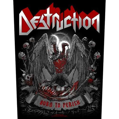 Back Patch Destruction Born To Perish