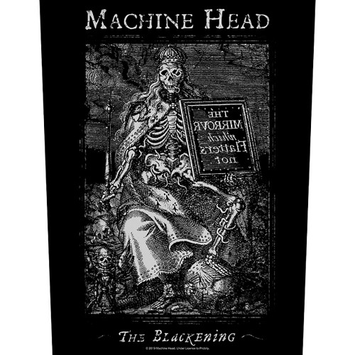 Back Patch Machine Head The Blackening