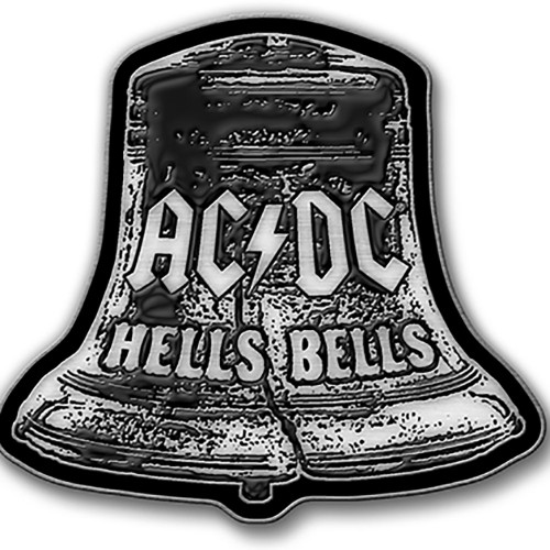 Insignă AC/DC Hells Bells