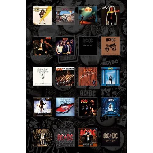 Poster Textil AC/DC Albums