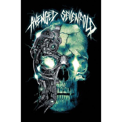 Poster Textil Avenged Sevenfold Mechanical Skull