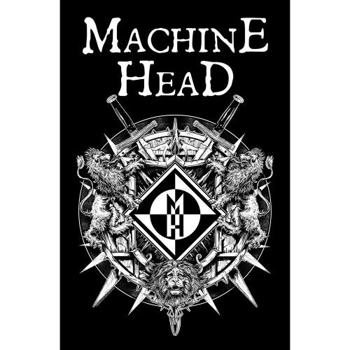 Poster Textil Machine Head Crest