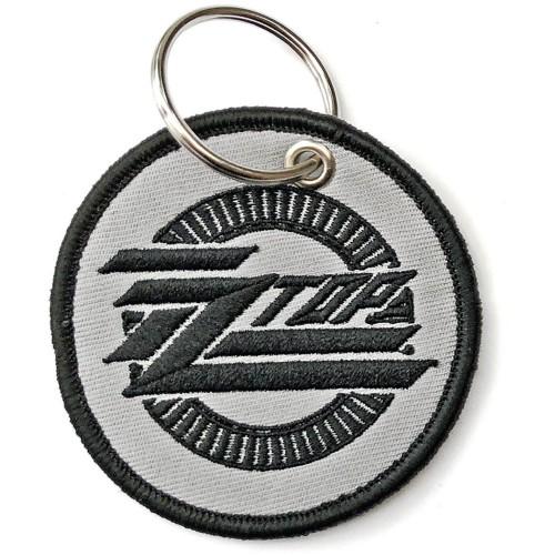 Breloc ZZ Top Circle Logo