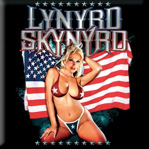 Magnet Lynyrd Skynyrd American Flag