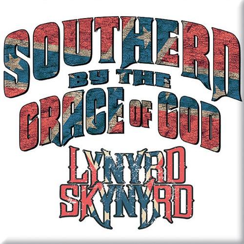 Magnet Lynyrd Skynyrd Southern By The Grace Of God