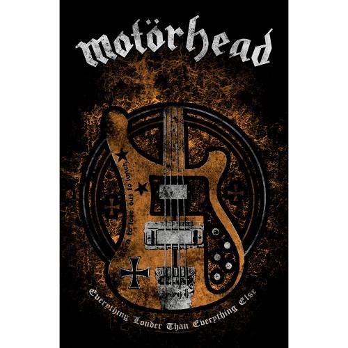 Poster Textil Motorhead Lemmy's Bass