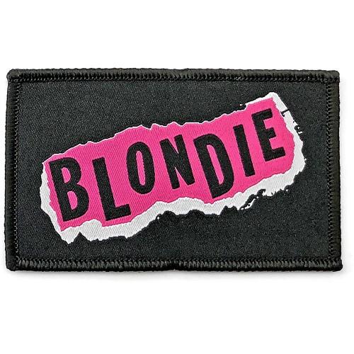Patch Blondie Punk Logo