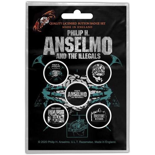 Set Insigne Philip H. Anselmo & The Illegals Brain