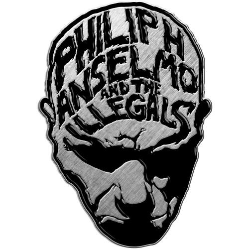 Insignă Philip H. Anselmo & The Illegals Face