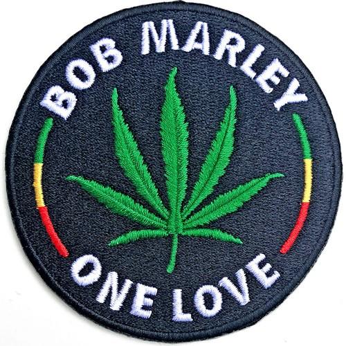 Patch Bob Marley Leaf