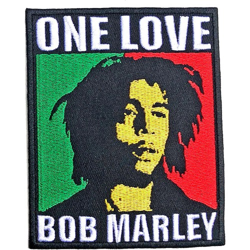 Patch Bob Marley One Love