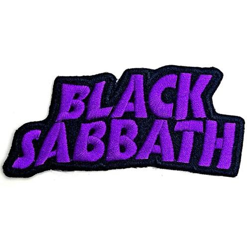 Patch Black Sabbath Cut Out Wavy Logo