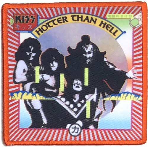 Patch KISS Hotter Than Hell