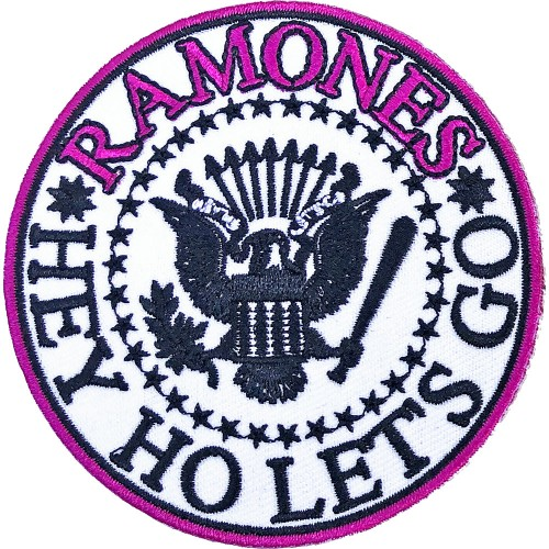Patch Ramones Hey Ho Let's Go V. 1