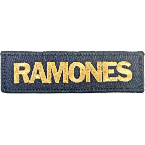 Patch Ramones Gold Logo