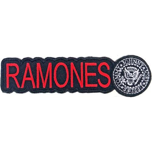 Patch Ramones Logo & Seal