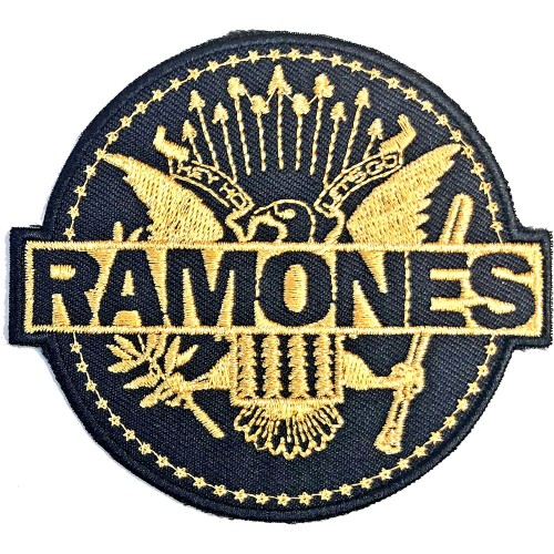 Patch Ramones Gold Seal