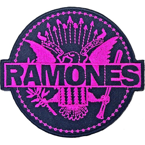 Patch Ramones Pink Seal
