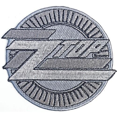 Patch ZZ Top Metallic Logo