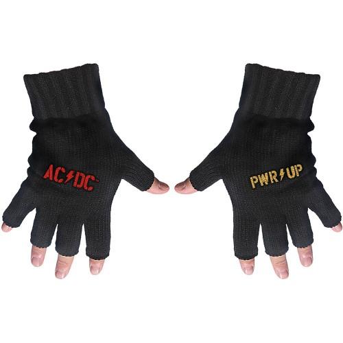 Mănuși fără Degete AC/DC PWR-UP Logo