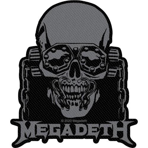 Patch Megadeth Vic Rattlehead Cut Out